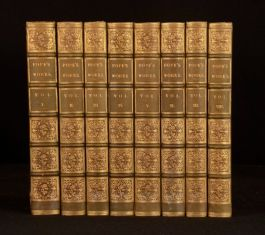 1847 8vols The Works of Alexander Pope Illustrated New Edition William Roscoe