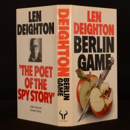 1983 Berlin Game Deighton First Edition Dustwrapper Game Set and Match Trilogy