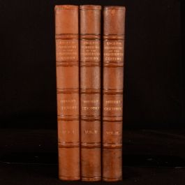 1911 3vols English Furniture of The Eighteenth Century Herbert Cescinsky