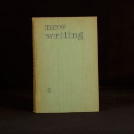 1936 New Writing Number 1 Spring 1936 First Edition John Lehmann Ralph Bates