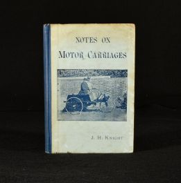 1896 Notes on Motor Carriages