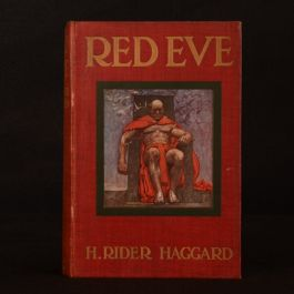 1911 Red Eve H. Rider Haggard First Edition Colour Illustrated