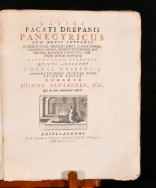 1753 Panegyricus Cum Notis Integris