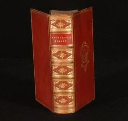 1874 Critical and Historical ESSAYS by Lord MACAULAY
