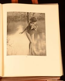 1928 Pan's Garden Oliver Hill Poetry Prose Photography Arcadian