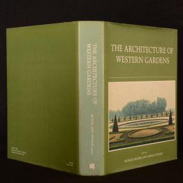 1991 Architecture of Western Gardens Mosser Teyssot Dustwrapper