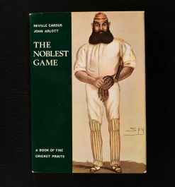 1969 The Noblest Game a Book of Fine Cricket Prints