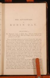 1877 Adventures of ROBIN DAY By Robert M. Bird
