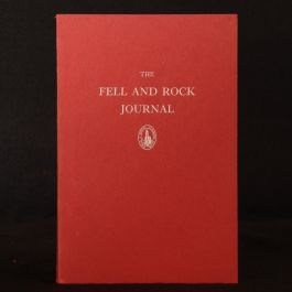 1907-1972 22 vols in 57 Journal Fell and Rock Climbing Club First Edition Illustrated Cain