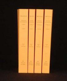 2003 4 Vols PROCLUS Theologie Platonicienne