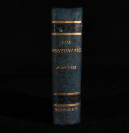 1886 The Bostonians a Novel
