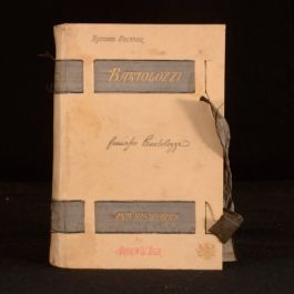 1885 Bartolozzi And His Works Andew W Tuer Signed Second Edition Illustrated