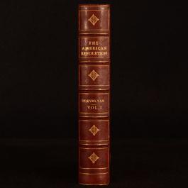 1917 American Revolution Volume I Trevelyan Folding Map Illustrated New Edition