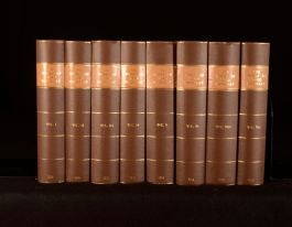 1871 8Vols The Works Of Lord Macaulay Edited By Lady Trevelyan Complete