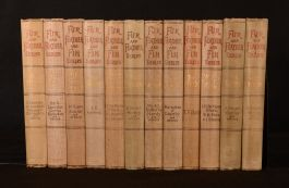 1893-1906 11vol Fur and Feather and Fin Series Illustrated