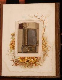 c1880 Cartes-de-Visite VICTORIAN Photograph MUSIC BOX
