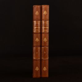 1876 2vols Histoire Abregee Des Campagnes Modernes J Vial Second Edition French