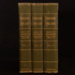 1928 3vols The Engineering Educator W. J. Kearton Illustrated
