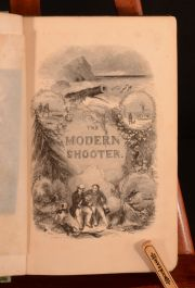 1842 The Modern Shooter Inland and Coast Shooting Captain Lacy First Edition