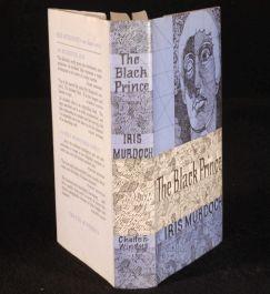 1973 IRIS MURDOCH The Black Prince Novel D/J 1ST