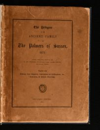 1867 The Pedigree of the Ancient Family of the Palmers of Sussex, 1672