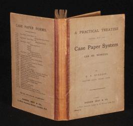 c1932 CASE PAPER SYSTEM Everest History Sheet
