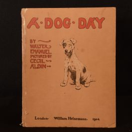 1904 A Dog Day The Angel in the House Emanuel Aldin Colour Illustrated