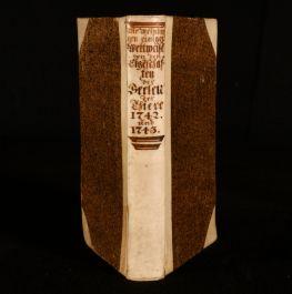 1743 Die Verschiedenen Meynungen Einiger Weltweisen