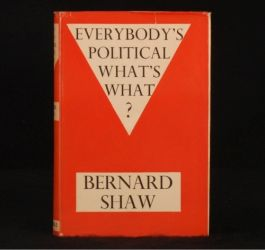 1944 Everybody's Political What's What B Shaw First