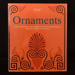 2001 Ornaments Patterns for Interior Decoration Kubisch Seger First Edition Dustwrapper