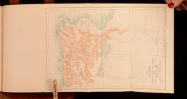 1909 Major G B Laurie The French Conquest of Algeria History Military Map Scarce