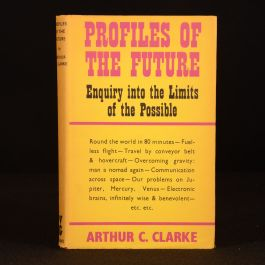 1962 Profiles of the Future Arthur C Clarke Non Fiction Essays First Edition