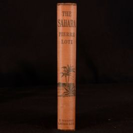 1921 The Sahara A Spahis Love Story Pierre Loti Illustrated Vignettes English