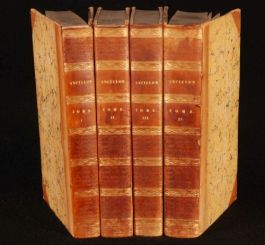 1823 4vols REVOLUTIONS du SYSTEME POLITIQUE Ancillon