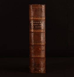 1843 2vol in 1 Travels in New Zealand E Dieffenbach Geology First Ed Scarce