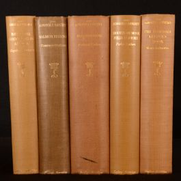1930-1957 5vols Lonsdale Library of Sports Games Pastimes Vol III VII X XI XXVI