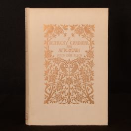 1901 A Kentucky Cardinal and Aftermath Allen Thomson Limited Edition Illustrated