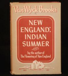 1940 NEW ENGLAND 1865-1915 Van Wyck Brooks 1ST History