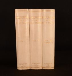 1908 3vol Brougham and His Early Friends Privately Printed RHM Buddle Atkinson