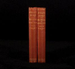1866 2v FELIX HOLT Radical George Eliot First