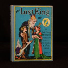 c1945 The Lost King of Oz Ruth Plumly Thompson Illustrated L Frank Baum Children