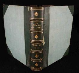 1904 La Revue de L'art FRENCH PERIODICAL Comte ART
