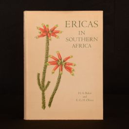 1967 Ericas In Southern Africa First Edition Col. H A Baker E Oliver Dustwrapper