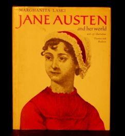 1975 JANE AUSTEN Laski BIOGRAPHY Illus D/J