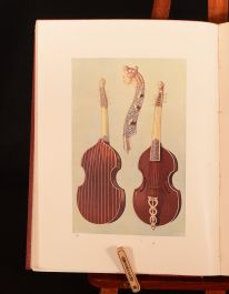 1945 Musical Instruments Historic Rare and Unique Hipkins Gibb Illustrated Coloured Plates