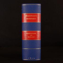 1834 Dictionary Hindustani and English John Shakespear Third Edition