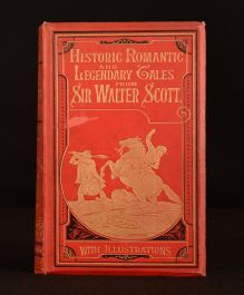 1886 Historical Legendary and Romantic Tales Walter Scott Illustrated