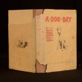 1950 A Dog Day or The Angel in the House Illustrated Dustwrapper Walter Emanuel