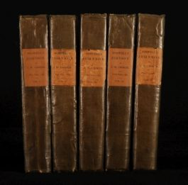 1831 5 Vols Samuel JOHNSON by BOSWELL ed. W. Croker