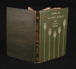 c1901 MATTHEW ARNOLD Poetry POEMS Olive Books
